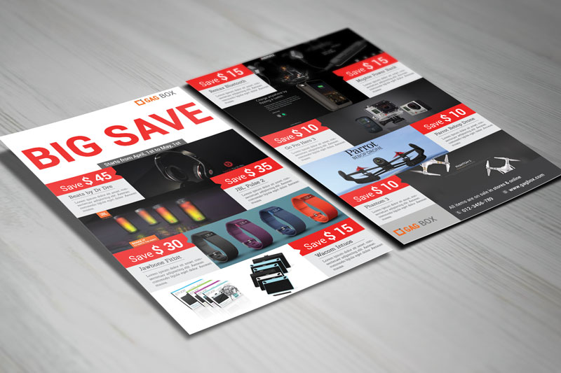 free psd templates download big save product sale flyer
